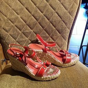 Coach Maryellen Multicolor Wedges Sandals Shoes